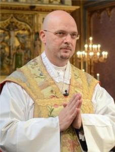 Pfarrer P. Matthias bei seiner Amtseinführung | © Augustiner Wien | Foto: Franz Josef Rupprecht