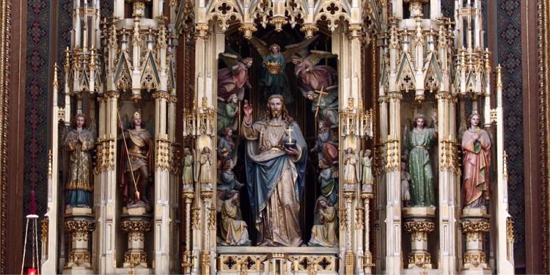 Christus König, Hochaltar der Augustinerkirche | © Augustiner Wien