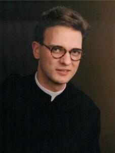 P. Matthias bei seinem Ordenseintritt 1992 | © Augustiner Wien