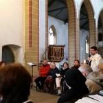 24.-29.04.2017: Auf den Spuren Martin Luthers | Hl. Messe mit P. Jeremias OSA in der Augustiner & Reglergemeinde Erfurt.