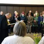 24.-29.04.2017: Auf den Spuren Martin Luthers Hl. Messe mit P. Jeremias OSA in der Augustiner & Reglergemeinde Erfurt - P. Pius verkündet das Evangelium.