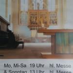 24.-29.04.2017: Auf den Spuren Martin Luthers Ein gutes Miteinander in der Regler-Kirche