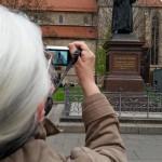 24.-29.04.2017: Auf den Spuren Martin Luthers Wer fotografiert da Edith?