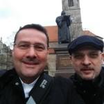 24.-29.04.2017: Auf den Spuren Martin Luthers Zwei wirkliche und ein ehemaliger Augustiner.