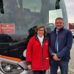 24.-29.04.2017: Auf den Spuren Martin Luthers | Reiseleiterin Agnes und Buschauffeur Christian