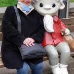 24.-29.04.2017: Auf den Spuren Martin Luthers Judith zu jedem Spaß bereit :-)