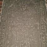 24.-29.04.2017: Auf den Spuren Martin Luthers Auf diesem Stein lag Frt. Martin Luther bei seiner Profess.