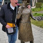 24.-29.04.2017: Auf den Spuren Martin Luthers Schmalkalden - Rast in der Viba Nougat-Welt Da bekommt der Prior Appetit auf Schokolade ;-)