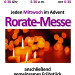 Advent-Roratemessen 2018